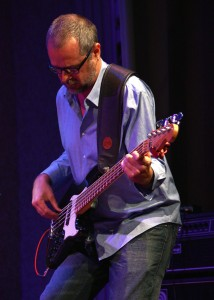Tyler WIlliams plays an original Bass composition at Composers Showcase